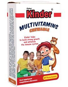 قرص جویدنی مولتی ویتامین کودکان